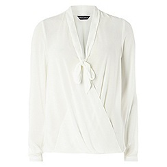 Dorothy Perkins - Tall ivory pussybow blouse