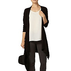 Dorothy Perkins - Black long sleeve jersey cardigan