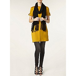 Dorothy Perkins - Tall ochre roll tab tunic