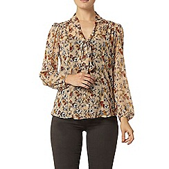 Dorothy Perkins - Ditsy floral print pussybow blouse