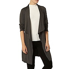 Dorothy Perkins - Grey waterfall jersey cardigan