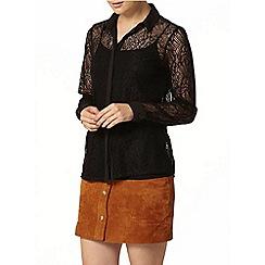 Dorothy Perkins - Black lace shirt