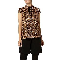 Dorothy Perkins - Dandelion print tie soft t-shirt