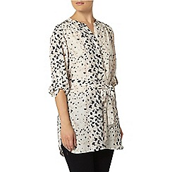 Dorothy Perkins - Cream leopard print blouse