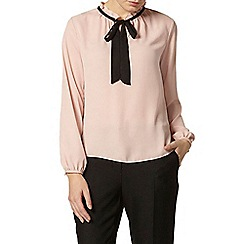 Dorothy Perkins - Blush frill neck blouse