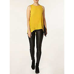 Dorothy Perkins - Ochre dip hem built up camisole