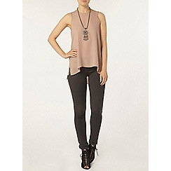 Dorothy Perkins - Latte dip hem built up camisole