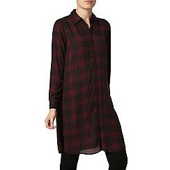 Dorothy Perkins - Red and black maxi shirt