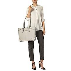 Dorothy Perkins - Ivory collar rollsleeve shirt