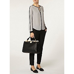 Dorothy Perkins - Silver bar longsleeve top