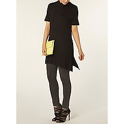 Dorothy Perkins - Black jersey swing tunic
