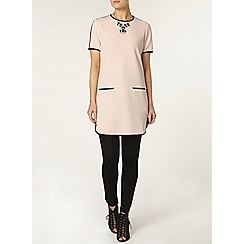 Dorothy Perkins - Blush stripe tunic