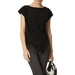 Dorothy Perkins - Black jersey wrap top