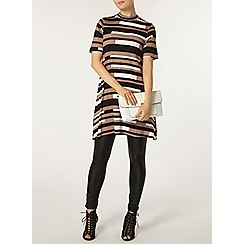 Dorothy Perkins - Camel stripe jersey tunic