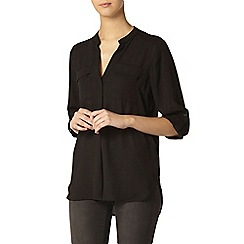 Dorothy Perkins - Tall: black 2 pocket shirt
