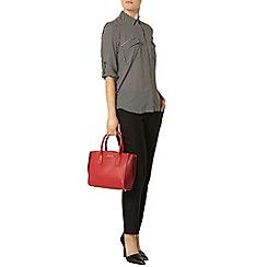 Dorothy Perkins - Black and stone spot shirt