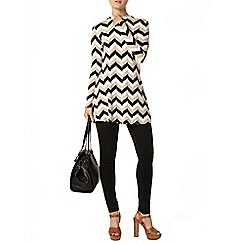 Dorothy Perkins - Black stripe jersey tunic