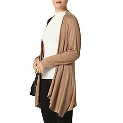 Dorothy Perkins - Camel long sleeve cardigan