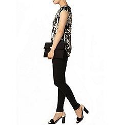 Dorothy Perkins - Black floral print t-shirt