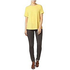Dorothy Perkins - Lemon pom pom trim t-shirt
