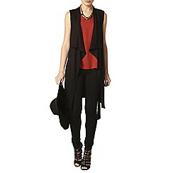 Dorothy Perkins - Black waterfall cardigan