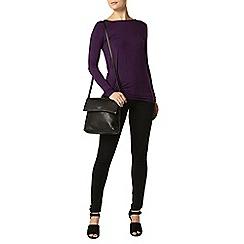 Dorothy Perkins - Purple jersey twist top