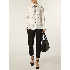 Dorothy Perkins - Heart print piped shirt