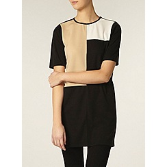 Dorothy Perkins - Tall black and stone tunic