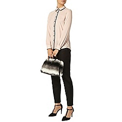 Dorothy Perkins - Blush piped shirt
