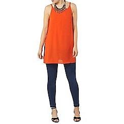 Dorothy Perkins - Orange longline camisole