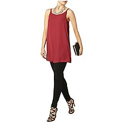 Dorothy Perkins - Raspberry longline cami top