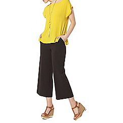 Dorothy Perkins - Yellow zip side t-shirt