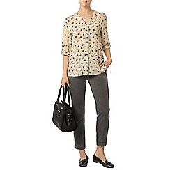 Dorothy Perkins - Circle leaf rollsleeve shirt