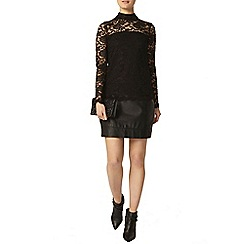 Dorothy Perkins - All over lace victoriana top