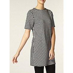 Dorothy Perkins - Tall black and white tunic