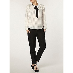 Dorothy Perkins - Monochrome frill neck top