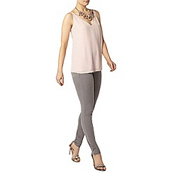 Dorothy Perkins - Blush deep v neck cami