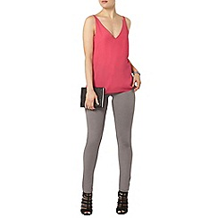 Dorothy Perkins - Pink deep v neck camisole top