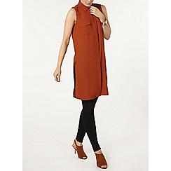 Dorothy Perkins - Longline sleeveless shirt
