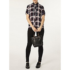 Dorothy Perkins - Frill check shirt