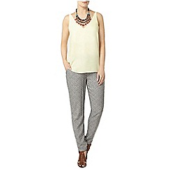 Dorothy Perkins - Lemon deep v neck camisole top