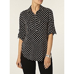 Dorothy Perkins - Spot jersey shirt