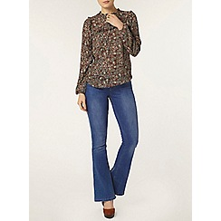 Dorothy Perkins - Ditsy daisy long sleeve top