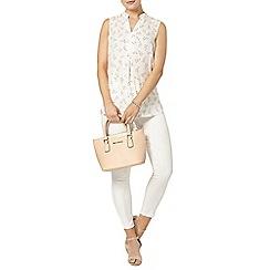 Dorothy Perkins - Floral sleeveless shirt