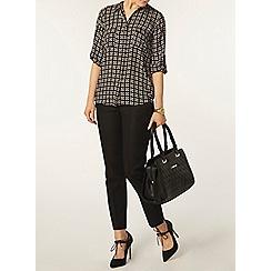 Dorothy Perkins - Black geo print shirt