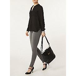 Dorothy Perkins - Black long sleeve shirt