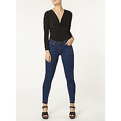 Dorothy Perkins - Black knot front body
