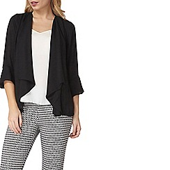 Dorothy Perkins - Black waterfall cover up