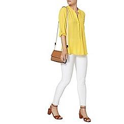 Dorothy Perkins - Lemon one pocket shirt