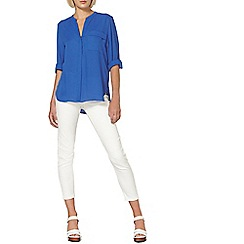 Dorothy Perkins - Cobalt one pocket shirt